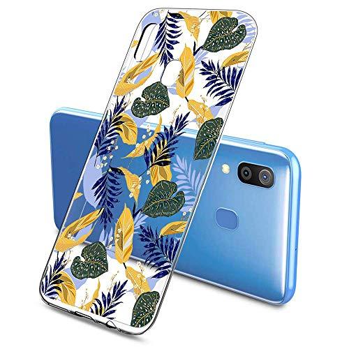 Suhctup Compatible pour Samsung Galaxy M51 Coque Silicone Transparent Ultra Mince Étui avec Clear Mignon Fleurs Motif Design Housse Souple TPU Bumper Anti-Choc Protection Cover,A1