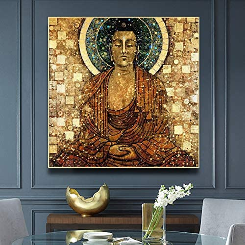 naayo Vintage Max 82% OFF Shipping included Buddha Sit In Meditation and Prin Posters Religion