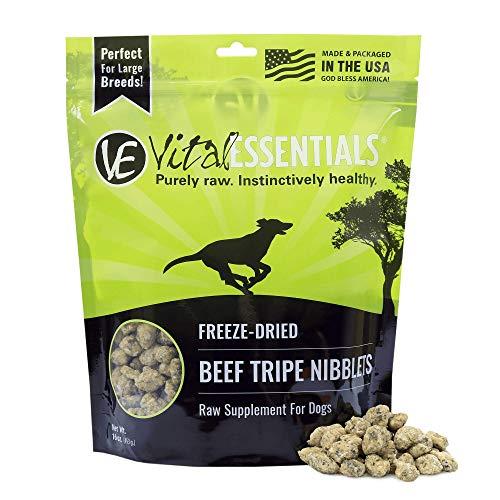 Vital Essentials Freeze-Dried Beef Tripe Nibblets Dog Treats, 16 oz