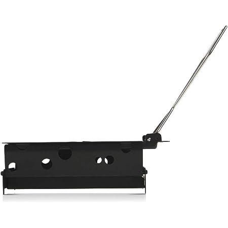 BOSKA 852045 Set à Raclette Portable, Acier Inoxydable, Argent/Noir, 19 x 10 x 5 cm
