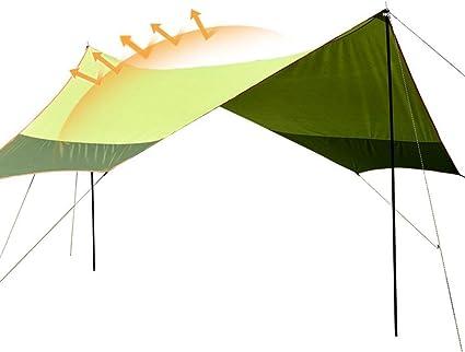 XYF Toldos Refugio Toldo Camping 5 × 4.5, Carpa Hexagonal ...