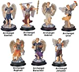 GSC Garsaco 3Inch Arcángel Set Colección Santa Figura Religiosa decoración