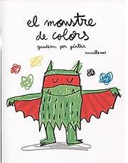 El Monstre De Colors, Quadern Per Pintar