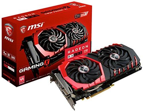 MSI Scheda grafica Radeon RX 480Gaming X, 4GB, DDR5,256 bit, 1x...