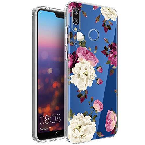 Verco Funda para Huawei P20 Lite, Delgada Case para Huawei P20 Lite Carcasa de Silicona Funda, Anti- Arañazos Transparente