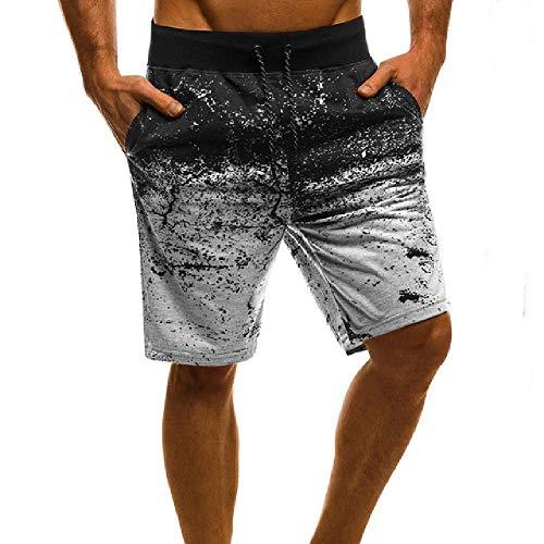 OKJI Zwembroek voor heren strandshorts Zomer Zwemkleding Badpakken met Zakken