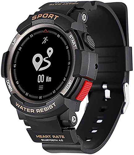 wyingj Reloj de fitness al aire libre de los hombres s Fitness Tracker IP68 impermeable podómetro contador de calorías reloj de los deportes Bluetooth Watch-A