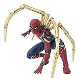 XXBH Marvel Avengers: Infinity War Iron Spider con Infinity Stone Modelo de Juguete 17 cm Las Figuras de acción Juego niños