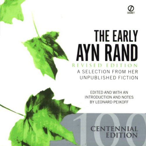 The Early Ayn Rand audiobook cover art