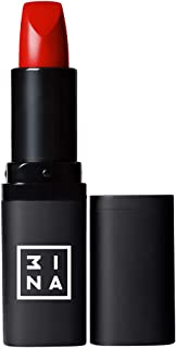 3INA Makeup Cruelty Free Paraben Free Vegan Essential Lipstick 4 ml - 118 Red Orange