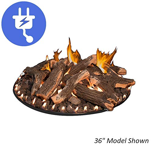 Review Grand Canyon 36 Burner Kit Flat Stack Electronic Ignition Gas Fire Pit - RFS-36-WBECS-LP