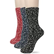 Eedor Womens Winter Knit Warm Casual Thick Thermal Crew Socks