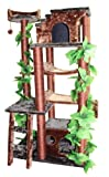 Kitty Mansions Mini Amazon Cat Tree, Green