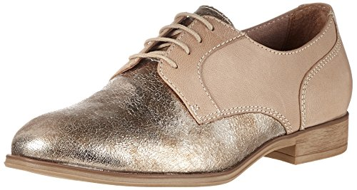 Tamaris Damen 23213 Oxford, Beige (Shell Comb 424)