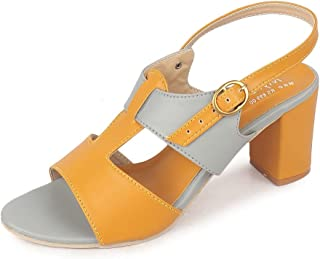 Myra Women's Block Heel Sandal - MS1356C