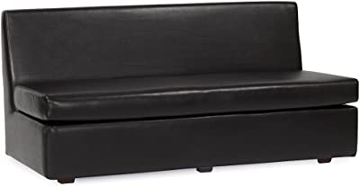 Howard Elliott 858-194 Slipper Sofa, Avanti Black