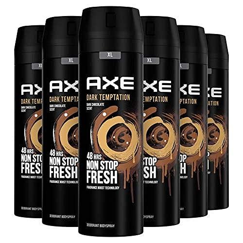 Axe Dark Temptation Rock Desodorante - 200 ml - Pack de 6