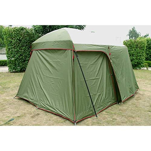MENGQIN 8 Personen Strand Camping Tent Anti/Proof Wind/Regen Uv/Waterdicht 1 Kamer 1 Hal Te Koop