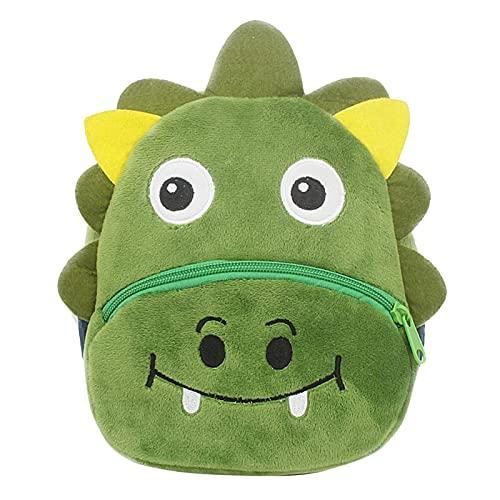 Bolsos de la Escuela de los niños Impresión de Dibujos Animados 3D Peluche Niños Mochila Kindergarten Bolsas de la Escuela Mini Bolsa de Libro Mini Mochila (Color : C)