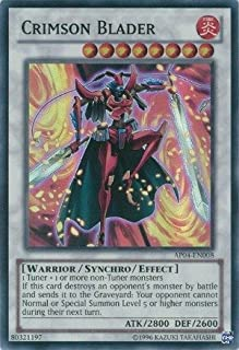 Yu-Gi-Oh! - Crimson Blader (AP04-EN008) - Astral Pack: Booster Four - Unlimited Edition - Super Rare