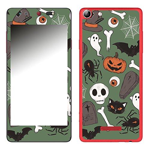 Disagu SF-106693_1211 Design Folie für Wiko Selfy 4G - Motiv Halloweenmuster 03