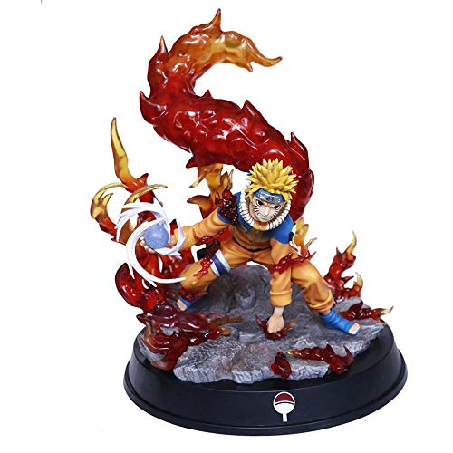 Naruto Action-Figur Shippuden Uzumaki Naruto Kurama Kyuubi Statue Sammler Modell Figur 20cm