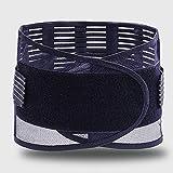 腰サポーター 女性のための適切な救済月経困難症腹痛ポータブルウエストパッドウエストウォーマー スポーツサポーター (Color : Black, Size : M)
