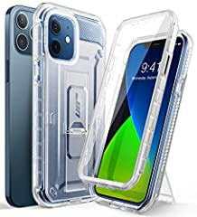 """[20 Foot DROP TESTED]:Winner of CNET's """"Best Case Scenario"""" drop test. [Built-in screen protector]: Built-in screen protector prevents scratches without compromising touch sensitivity. [Rotatable Holster]: Detachable swiveling belt clip holster for c..."""