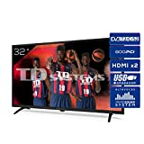 TD Systems K32DLK12H - Televisores 32 Pulgadas HD 3X HDMI, USB, 800 PCI Hz, Grabador Reproductor, DVB-T2/C/S2 Modo Hotel...