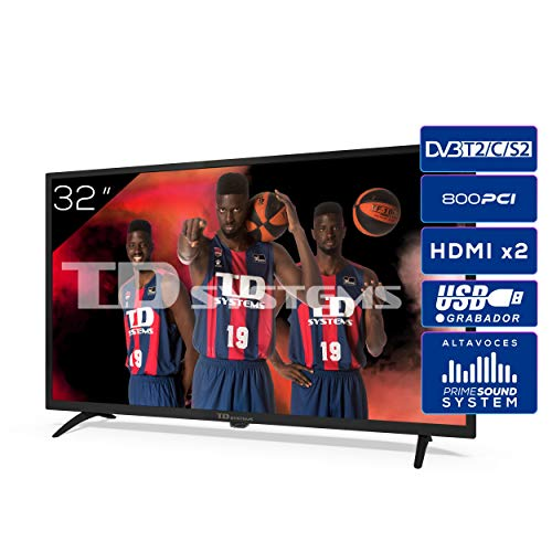 Televisores 4K 32 Pulgadas Smart Tv Marca TD Systems
