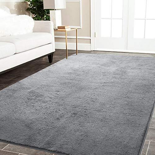 Color&Geometry Alfombra Habitación para Dormitorio Alfombras de Recibidor Pasillo Alfombrilla Moderna Rectangular...