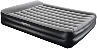 comprar comparacion AmazonBasics Pillow Rest Single Size Premium Airbed with Built in Air Pump(EU)