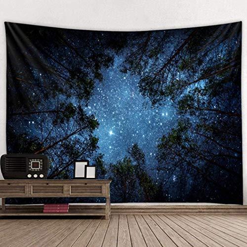 Rabbfay Stoff Wandbehang Dekorative Tapestry Psychedelische Galactic Universum Wandtuch Hängen ist im Schlafsaal Wohnzimmer Schlafzimmer verwendet,Tapestry E,150x130cm