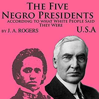 The Five Negro Presidents audiobook cover art