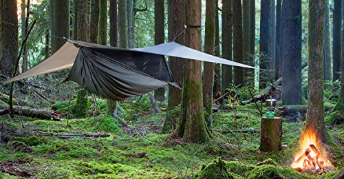 Hennessy Hammock - Deep Jungle Zip - Premium Double Bottom Hammock for The Buggiest Jungles on The Planet