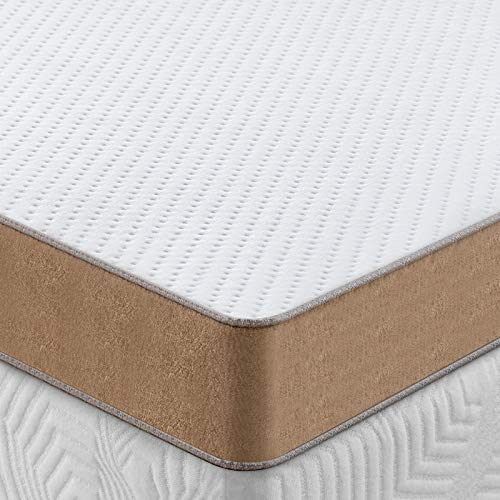 BedStory 3 inch Memory Foam Mattress Topper Full Size Gel Infused Cooling Mattress Pad Premium Bed Topper with Removable amp Washable Cover Pressure Relief Ventilated Design CertiPURUS Certified