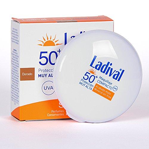 LADIVAL MAQUILLAJE COMPACTO DORADO SPF 50