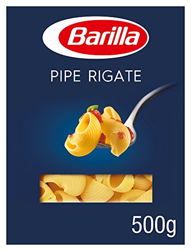 Barilla Hartweizen Pasta Pipe Rigate n. 91 – 12er Pack (12x500g)