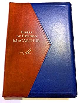 Biblia de Estudio MacArthur RVR 1960 Edición Lujo Letra Grande Indice y Cierre