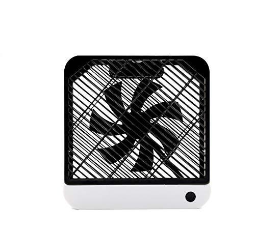 DIKER Ventilatore usb portatile Tavolo Mini Ventilatore Quadrato Ventilatori silenziosi Ventilatore da Pavimento Personale, per casa e Ufficio Tavolo Ventilatore