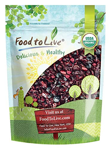Organic Mixed Berries 2 Pounds Blueberries Non-GMO — Dried In stock Weekly update