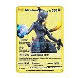 PPCERY Anime Kawaii Trainer Lillie Pokemon Metal Tarjeta de Metal...