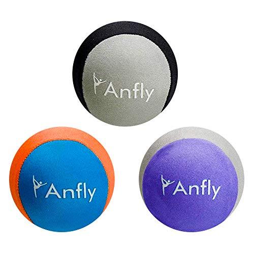 Pelota Antiestrés 3 Piezas Anfly Anti Estrés Bolas Antiestrés,Bolas Ejercicio Mano, Fortalecedor Mano para Apretar el Alivio de la Ansiedad por Estrés, 3 Niveles de Resistencias,para Adultos y Niños