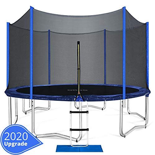 ORCC Trampoline 15 14 12 FT Outdoor Trampoline with...