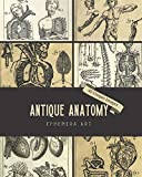 Antique Anatomy Ephemera Art: 40 Copyright-Free 17th & 18th Century Vintage Medical Images of Human Anatomy for Wall Decor, Tattoo Designs, Junk ... (Vintage Medical Book Anatomy Art Ephemera)