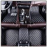SHDREAM Cuero A medida Coche Alfombrillas Set Accesorio interior Reemplazo for Volk-s Tiguan Ⅱ 2019 lujo automóvil Alfombra Envolvente Envolvente Completa lujo Envolvente Completa Estera coche imperme