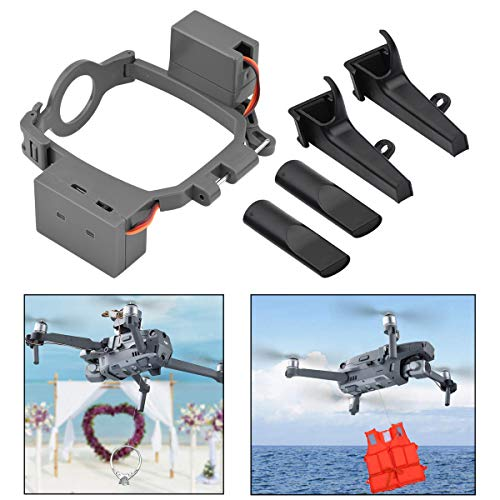 O'woda Mavic 2 Payload Drone Airdropper Clip Delivery Transport Device Wedding Drone Fishing Bait Search & Rescue Tool for DJI Mavic 2 Pro/Zoom (Not for Mavic Pro)