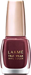 Lakmé True Wear Nail Color, Reds and Maroons 401, 9 ml