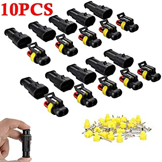 10 x BOSCH EV1 TERMINALS MALE for NORMAL+LOW 2,3,4,5,6,7,8 pin//pole plug car
