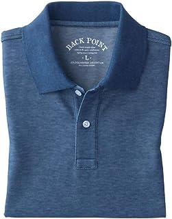 [セシール] ポロシャツ ディリーポロシャツ 抗菌防臭 吸汗速乾 UVカット 長袖 JK-270 メンズ